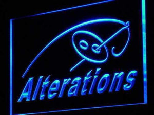Tailor Clothing Alterations Neon Sign (LED)-Way Up Gifts