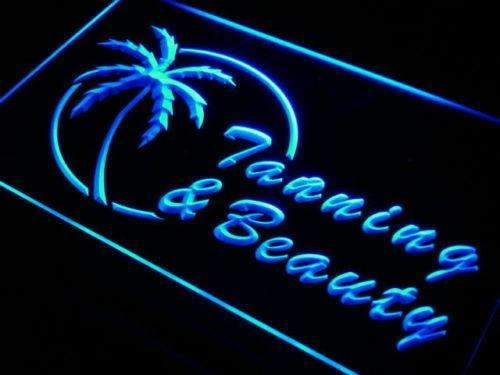 Tanning Beauty Salon LED Neon Light Sign  Business > LED Signs > Barber & Salon Neon Signs - Way Up Gifts