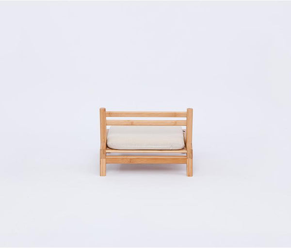 Handcrafted Bamboo Meditation Chair w/ Cushion  Home > Bamboo Products > Bamboo Furniture - Way Up Gifts
