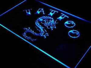 Tattoo Dragon Neon Sign (LED)-Way Up Gifts