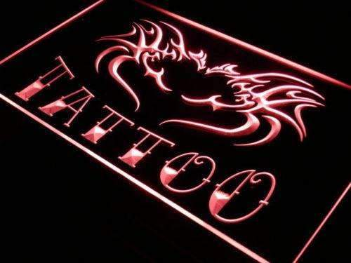 Tattoo Flying Dragon LED Neon Light Sign - Way Up Gifts