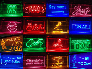 Tattoo Neon Sign (LED)-Way Up Gifts