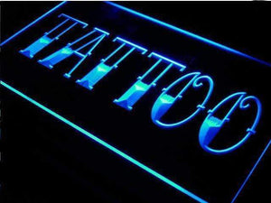 Tattoo & Piercing LED Neon Light Signs
