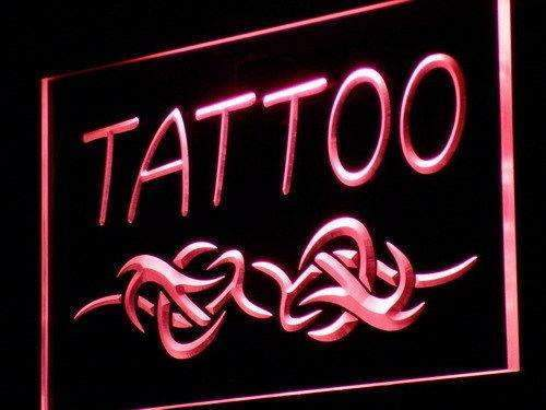 Tattoo Parlor LED Neon Light Sign - Way Up Gifts