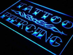Tattoo Piercing LED Neon Light Sign