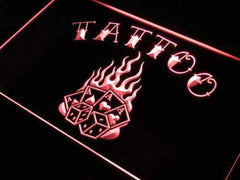 Tattoo Poker LED Neon Light Sign