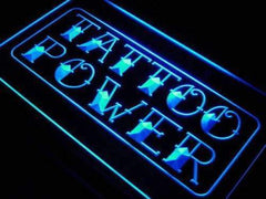 Tattoo Power Wall Decor LED Neon Light Sign