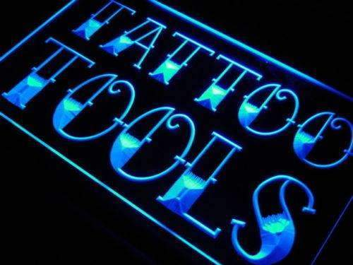 Tattoo Tools Shop LED Neon Light Sign - Way Up Gifts