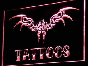 Tattoos Design Art Neon Sign (LED)-Way Up Gifts