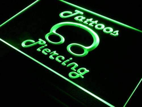 Tattoos Piercing LED Neon Light Sign - Way Up Gifts