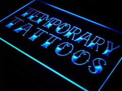 Temporary Tattoos LED Neon Light Sign