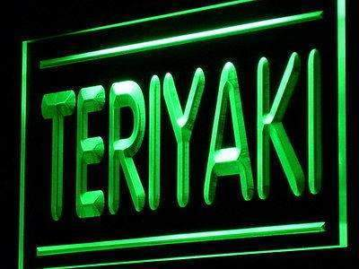 Teriyaki LED Neon Light Sign