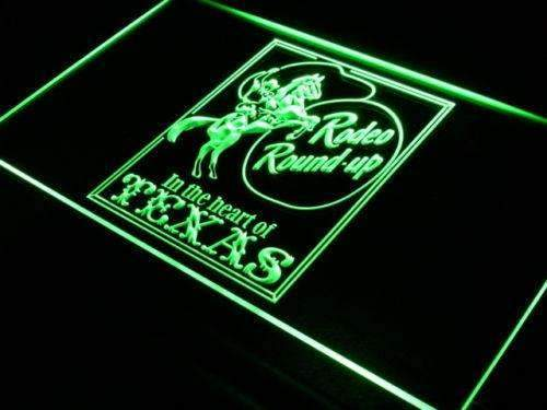 Texas Cowboy Rodeo LED Neon Light Sign - Way Up Gifts
