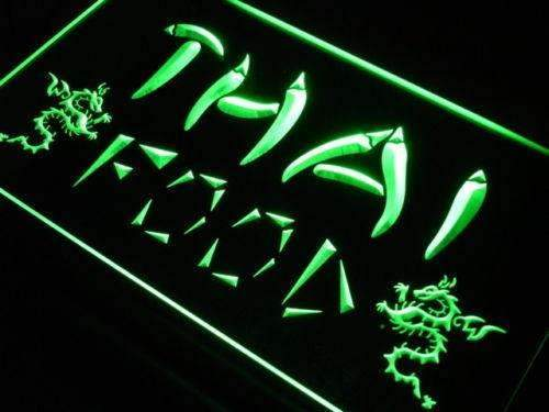 Thai Food LED Neon Light Sign - Way Up Gifts
