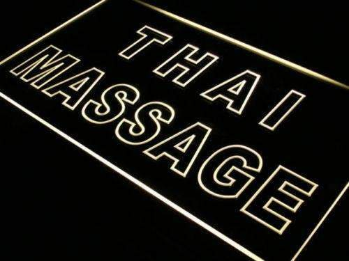 Thai Massage LED Neon Light Sign - Way Up Gifts