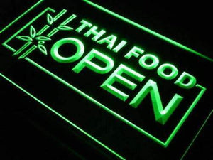 Thai Restaurant Food Open Neon Sign (LED)-Way Up Gifts