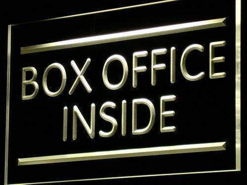 Theater Box Office Inside LED Neon Light Sign - Way Up Gifts