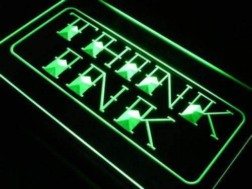 Think Ink Tattoo Shop LED Neon Light Sign - Way Up Gifts