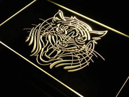 Tiger Face LED Neon Light Sign - Way Up Gifts