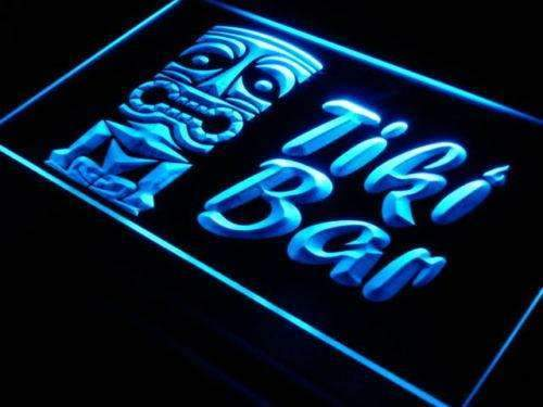 Tiki Bar Mask LED Neon Light Sign - Way Up Gifts