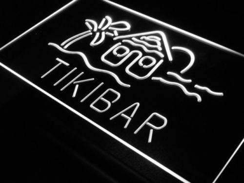 Tiki Hut Bar LED Neon Light Sign - Way Up Gifts