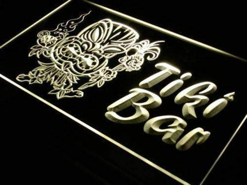 Tiki Man Tiki Bar LED Neon Light Sign  Business > LED Signs > Beer & Bar Neon Signs - Way Up Gifts
