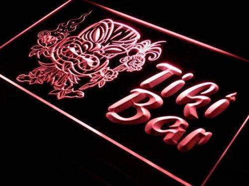 Tiki Man Tiki Bar LED Neon Light Sign - Way Up Gifts