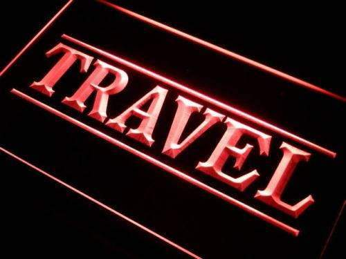 Travel Agency Lure LED Neon Light Sign - Way Up Gifts