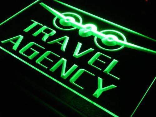 Travel Agency LED Neon Light Sign - Way Up Gifts