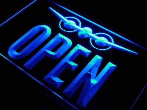 Travel Agent Open LED Neon Light Sign - Way Up Gifts