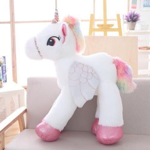 Giant Stuffed Unicorn Pony Animal Plush Toy