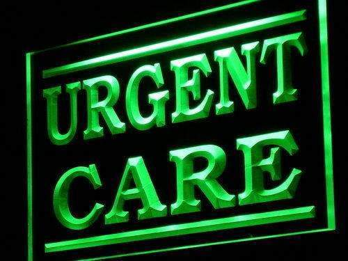 Urgent Care LED Neon Light Sign - Way Up Gifts