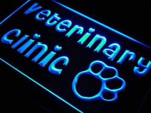 Vet Veterinary Clinic Neon Sign (LED)-Way Up Gifts