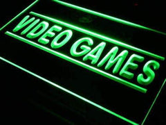 Video Games Store LED Neon Light Sign