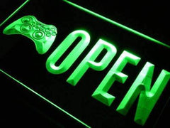 Video Games Store Open LED Neon Light Sign
