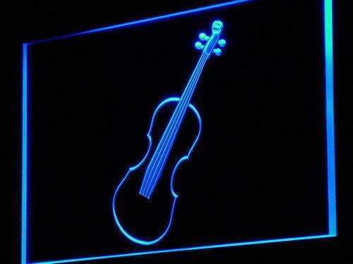 Violin Instruments Lessons LED Neon Light Sign - Way Up Gifts