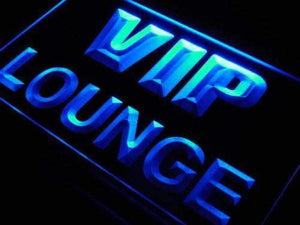 VIP Lounge Neon Sign (LED)-Way Up Gifts