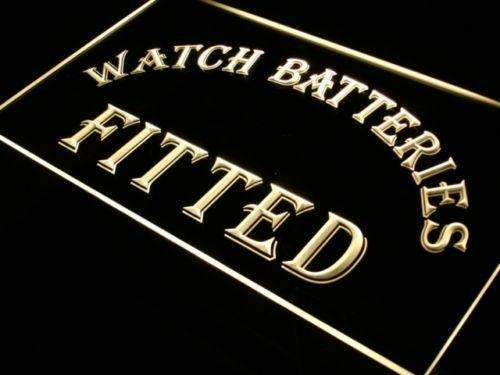 Watch Batteries Fitted LED Neon Light Sign - Way Up Gifts