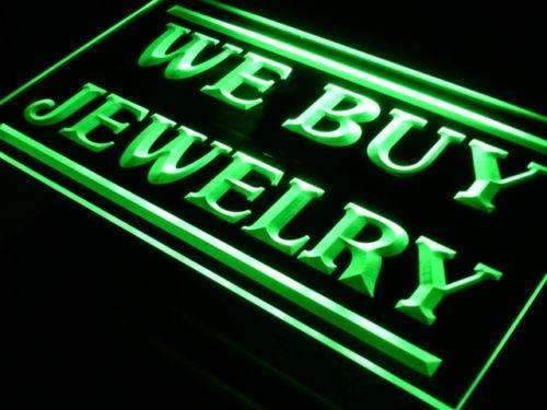 We Buy Jewelry LED Neon Light Sign - Way Up Gifts