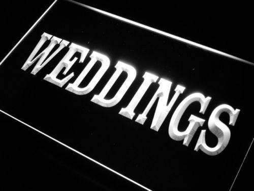 Weddings Services LED Neon Light Sign - Way Up Gifts