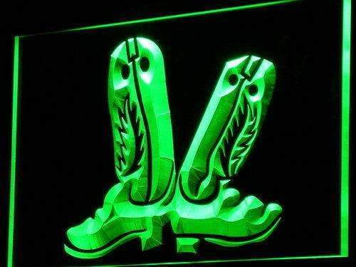 Western Cowboy Boots Decor LED Neon Light Sign - Way Up Gifts