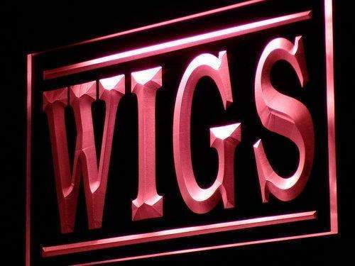 Wig Shop Wigs LED Neon Light Sign - Way Up Gifts
