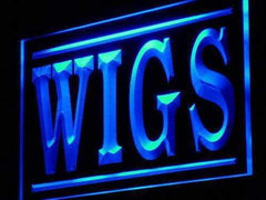 Wig Shop Wigs LED Neon Light Sign