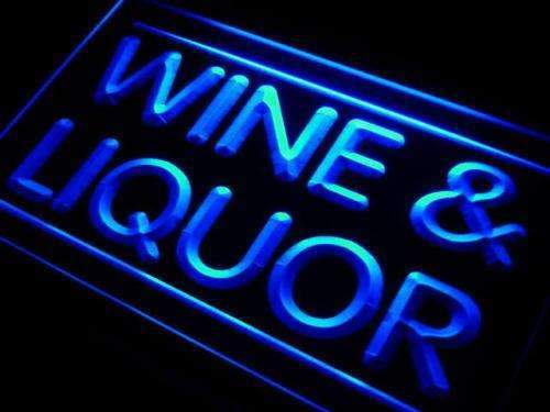 Wine Liquor LED Neon Light Sign  Business > LED Signs > Beer & Bar Neon Signs - Way Up Gifts