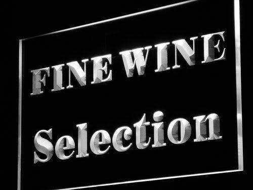 Wine Store Fine Wine Selection LED Neon Light Sign  Business > LED Signs > Beer & Bar Neon Signs - Way Up Gifts