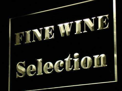Wine Store Fine Wine Selection LED Neon Light Sign - Way Up Gifts