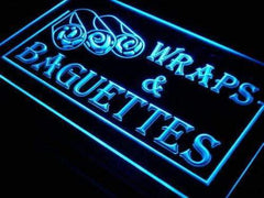 Wraps Baguettes LED Neon Light Sign
