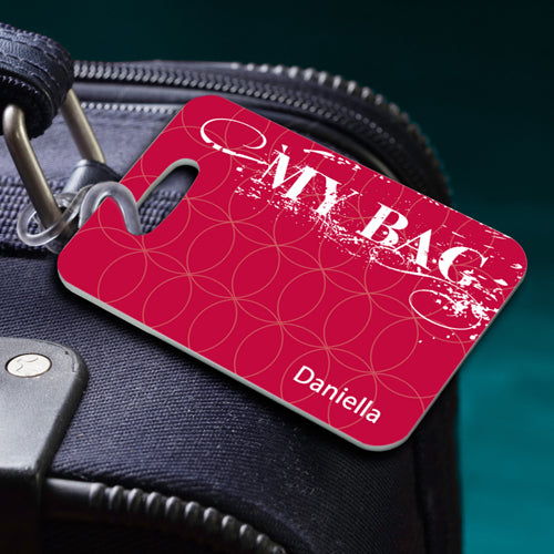 Personalized Name Luggage Tag My Bag Personalized Gifts - Way Up Gifts