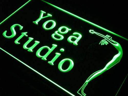 Yoga Studio LED Neon Light Sign - Way Up Gifts
