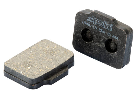 brake pads Polini organic for Polini brake caliper